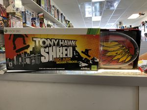 Tony Hawk XBOX 360 NEW IN BOX / Game & Wireless Board Controller for Sale in Redlands, CA