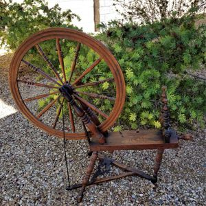 Rare Antique Accelerated CANADIAN PRODUCTION WHEEL CPW Spinning Wheel for Sale in Phoenix, AZ