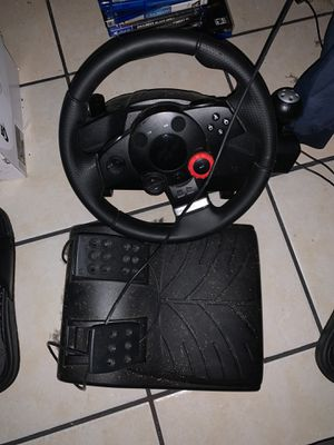 PS3 Logitech racing wheel for Sale in San Diego, CA