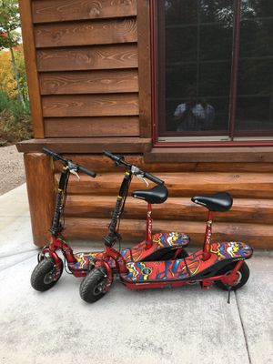 Two Electric Scooters for Sale in Harshaw, WI