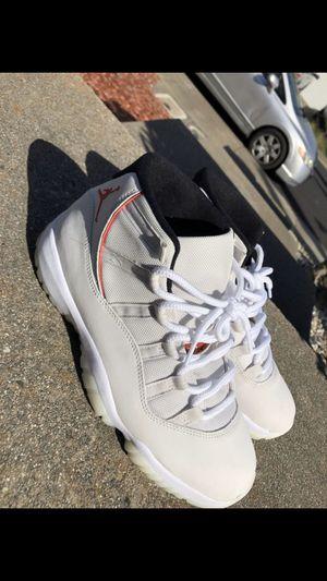 Jordan Reto 11 Platinum Tints for Sale in Vallejo, CA