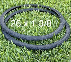 "26"" x 1 3/8 Bike Tires 🆕🚴🏽♀️ for Sale in Azusa, CA"