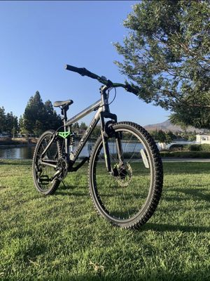 """New awesome 😎 full suspension 21 speeds mountain bike bicycle disk brakes 26"""" standard size tires for Sale in Chula Vista, CA"""