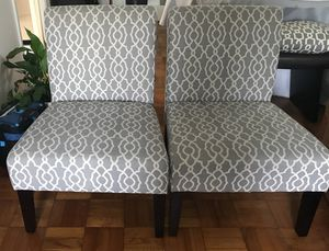 Accent chairs for complete your decor. for Sale in Tampa, FL