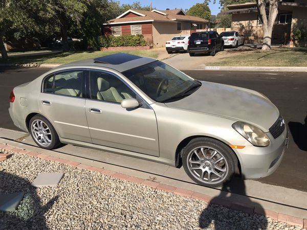 2005 Infiniti G35 REV UP 6 Speed manual (READ DESCRIPTION)