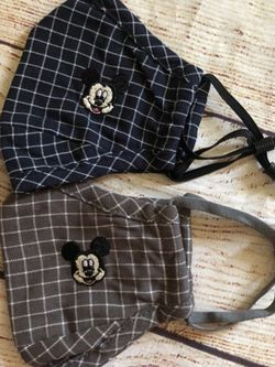 2 Mickey Mouse Kids Face Mask for Sale in Goleta, CA
