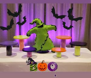 Cupcake stand/vases and Oogie Boogie stuffed prop FOR SALE! for Sale in Ontario, CA