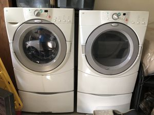 Whirlpool Duet Washer and Dryer for Sale in Puyallup, WA