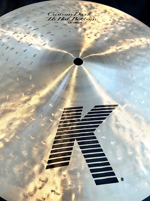 $400 or Best Offer ZildjianK Custom Dark Hi-Hat Cymbals Pair14 in. *MADE IN USA ! for Sale in Irving, TX