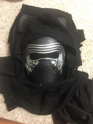 Halloween costume Boys xl Kylo Ren deluxe costume mask cape and hood for Sale in Upper Saint Clair, PA