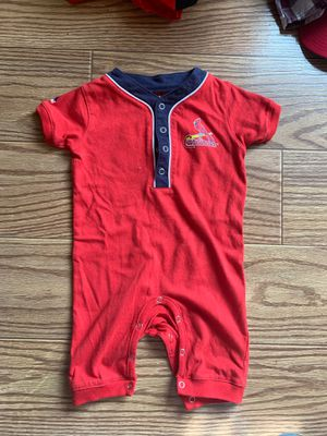 Baby boys Cardinals onesies 3/6 months for Sale in East Carondelet, IL
