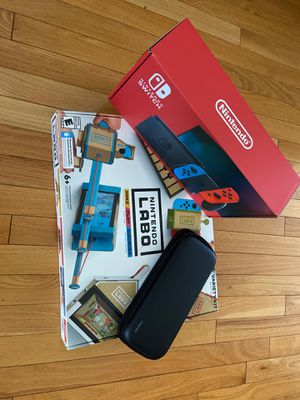 Brand New Nintendo Switch and Labo Pack for Sale in Fairfax, VA