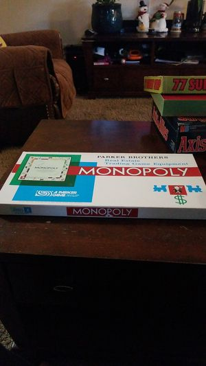 1961 monopoly board game for Sale in Hillsboro, OR