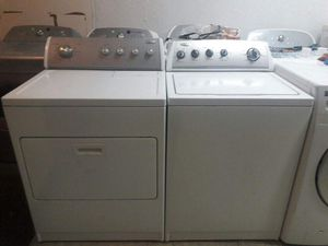 WHIRLPOOL WASHER AND DRYER SET SUPER CAPACITY **DELIVERY AVAILABLE TODAY** for Sale in Maryland Heights, MO