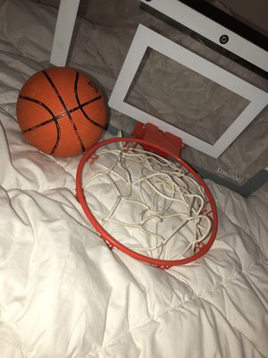 Mini nba basketball hoop for Sale in Queens, NY