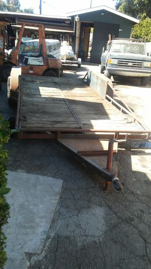 16 foot car trailer for Sale in Temple City, CA