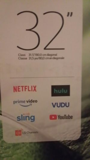 32 inch tv LG smart tv for Sale in Milwaukie, OR