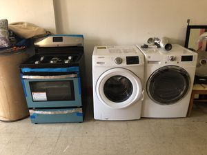 "Kenmore electric dryer Samsung washer kenmore stove ""NO CHECKS"" for Sale in Brooklyn, NY"