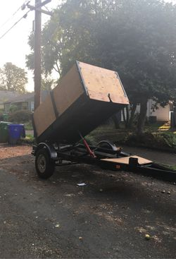 Dump trailer very solid for Sale in Portland,  OR