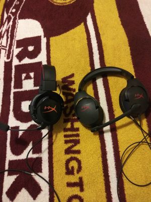 Gaming head phones Hyper X Cloud Core and Hyper X Cloud Stinger for Sale in Washington, DC