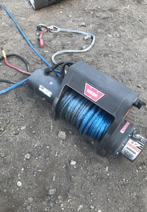 Warn winch xd9000i with synthetic rope, Never used, paid $1200 plus the synthetic cable for Sale in Los Angeles, CA