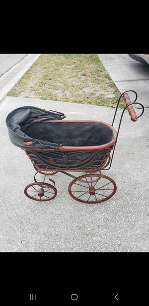 Antique doll carriage for Sale in Belleair, FL