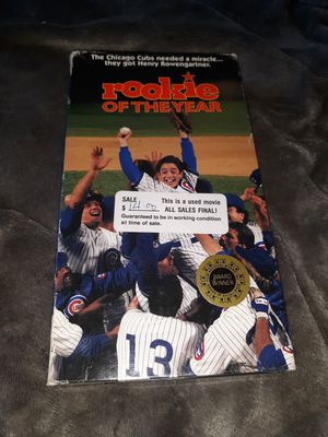 Rookie of the year vhs for Sale in Rapid City, SD