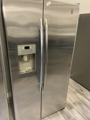 Ge profile stainless steel counter depth fridge for Sale in Phoenix, AZ
