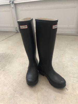Hunter rain boots for Sale in Mill Creek, WA