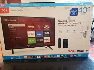 TCL 43inch Roku TV for Sale in Topanga, CA