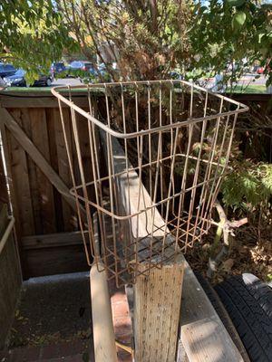 Metal basket for Sale in Orinda, CA
