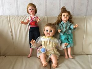 Three antique dolls for Sale in Highland Heights, OH