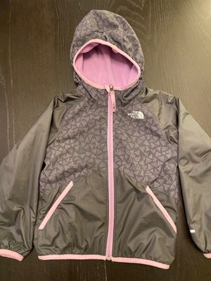 The North Face Reversible Girls Kids Jacket - Size 5 for Sale in Bellevue, WA