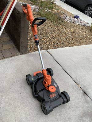 Black and decker lawn mower edger for Sale in Henderson, NV