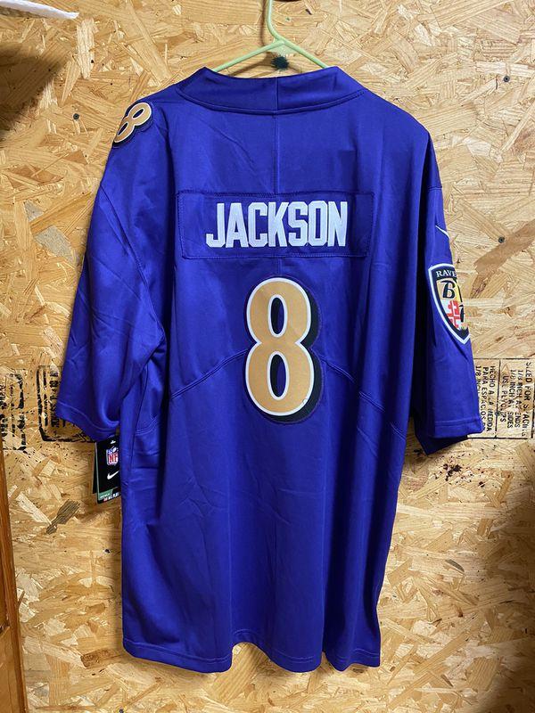 Nike color rush Baltimore ravens Lamar Jackson jersey