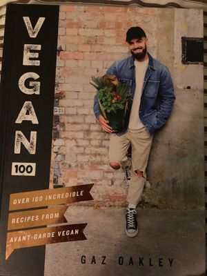 Vegan 100 cookbook by Gaz Oakley for Sale in Spring Valley, NY