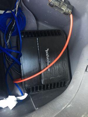Rockford Fosgate Amplifier for Sale in Boston, MA