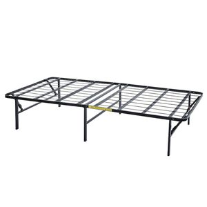 "14"" High Profile Foldable Steel Bed Frame, Powder-coated Steel, Twin for Sale in Raleigh, NC"