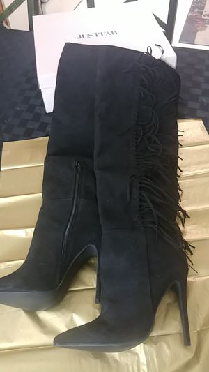 "Women's sexy 6""heel knee high boots for Sale in Annapolis, MD"