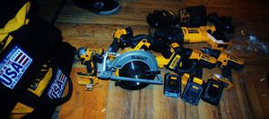 20v dewalt cordless tools for Sale in Wheeling, WV