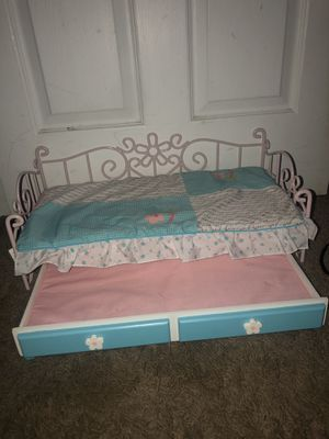 Our Generation Doll Bed with trundle for Sale in Bellevue, WA