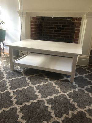 White Coffee Table for Sale in Baltimore, MD
