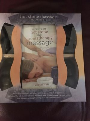 Hot stone massage kit for Sale in Payson, AZ