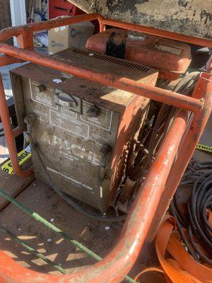 Apache Welder Generator w/ cables for Sale in North Arlington, NJ