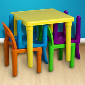 NEW In-Outdoor Kids Table and Chairs Play Set Toddler Child Toy Activity Birthday Play room for Sale in Henderson, NV