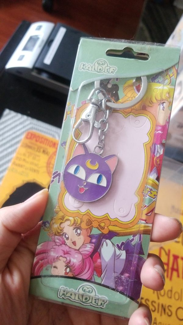 SET of anime keychains - dbZ and Luna