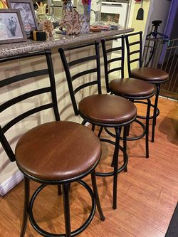 """4 Swivel bar Stools Chairs 29"""" Inch TALL for Sale in Anaheim,  CA"""