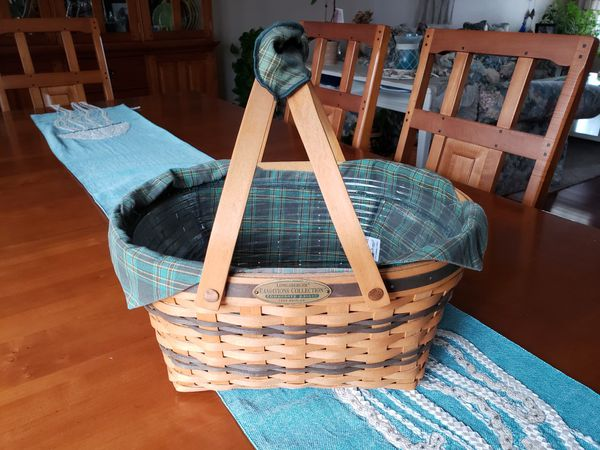 Longaberger 1996 Traditions Collection Community Basket