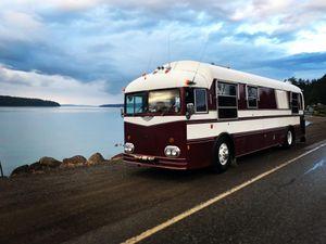 1956 Kenworth Pacific School bus conversation RV skoolie for Sale in Bremerton, WA