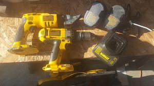"Dewalt DW941K 14.4 Volt Heavy Duty Cordless Shear & DC983 XRP 1/2"" Drill/Driver for Sale in Everett, WA"